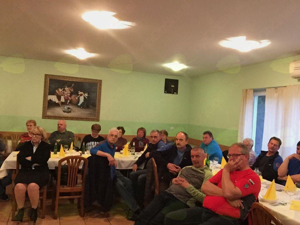 Občni zbor PD Slovenj Gradec 12.4.2018