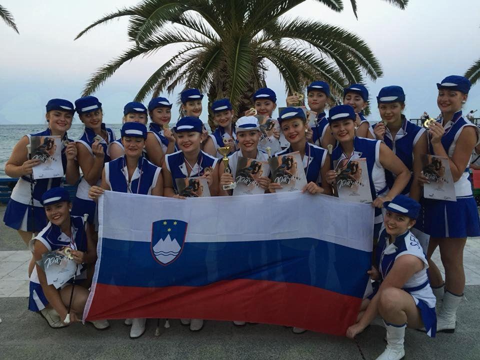 Sevniške mažoretke iz Grčije prinesle prvo mesto