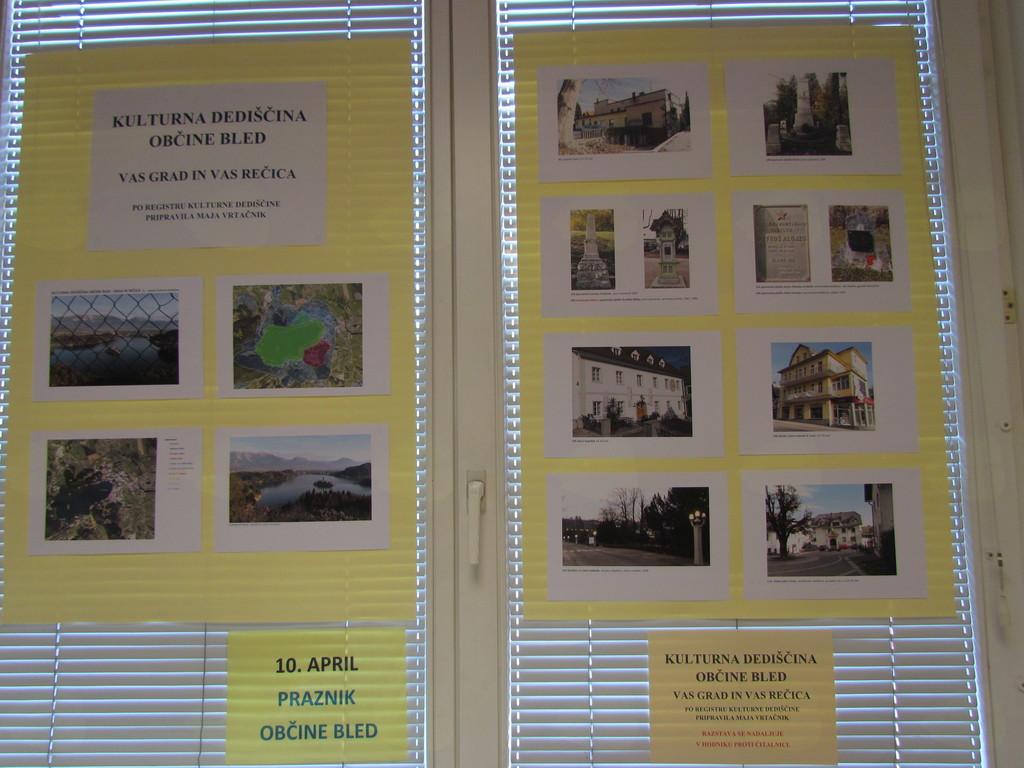 Kulturna dediščina Bleda: vas Grad in Rečica