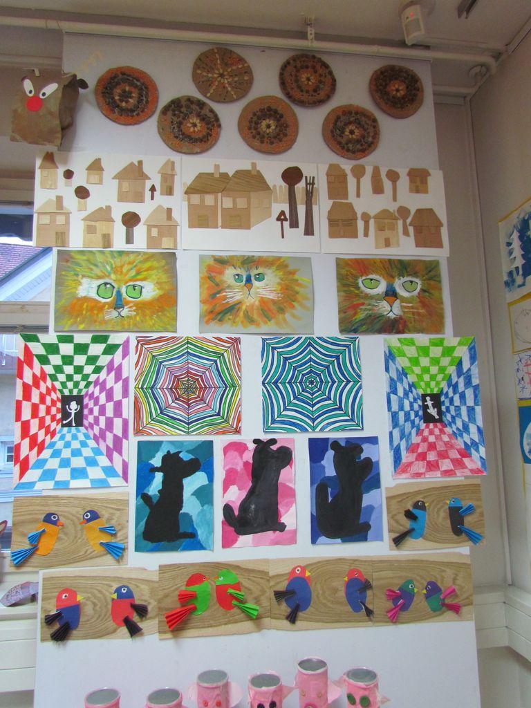 """""""Ustvarjalnost blejskih otrok na razstavi v blejski knjižnici"""""""