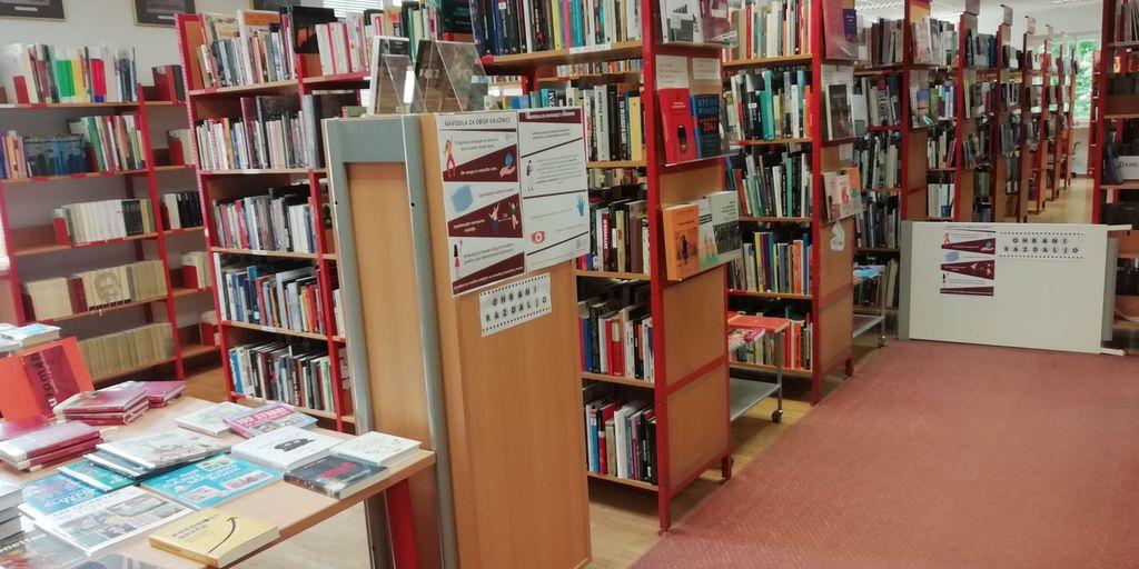 Blejska knjižnica spet odprta