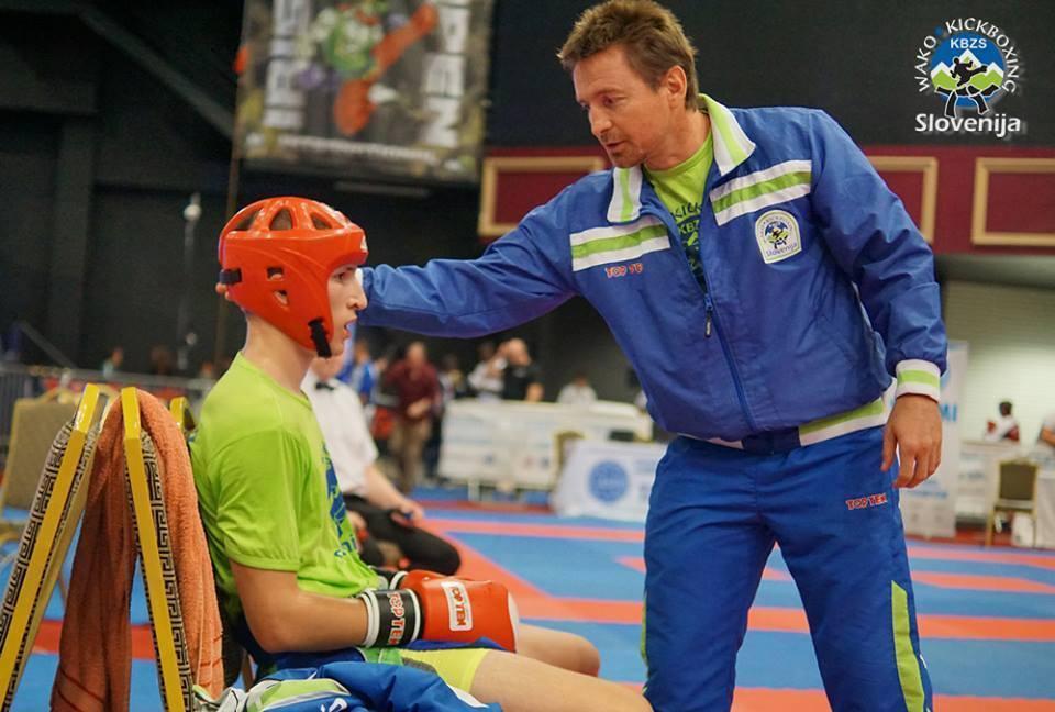Dejan in trener Igor Pacek