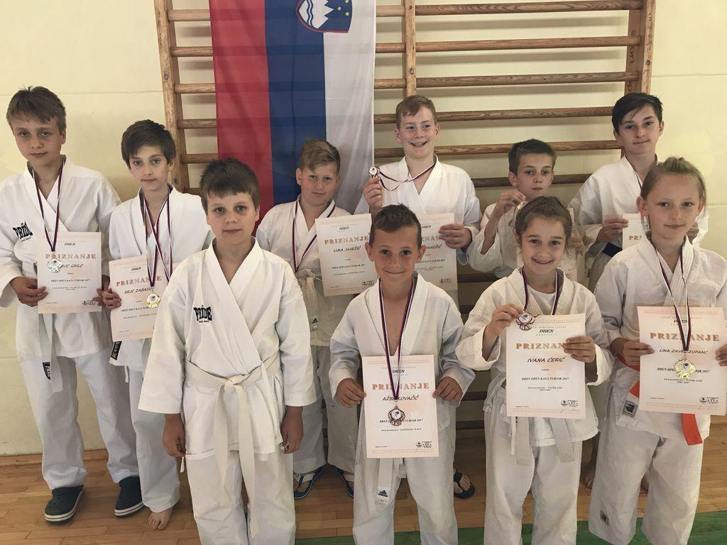 Mladi karateisti KBV Sevnica