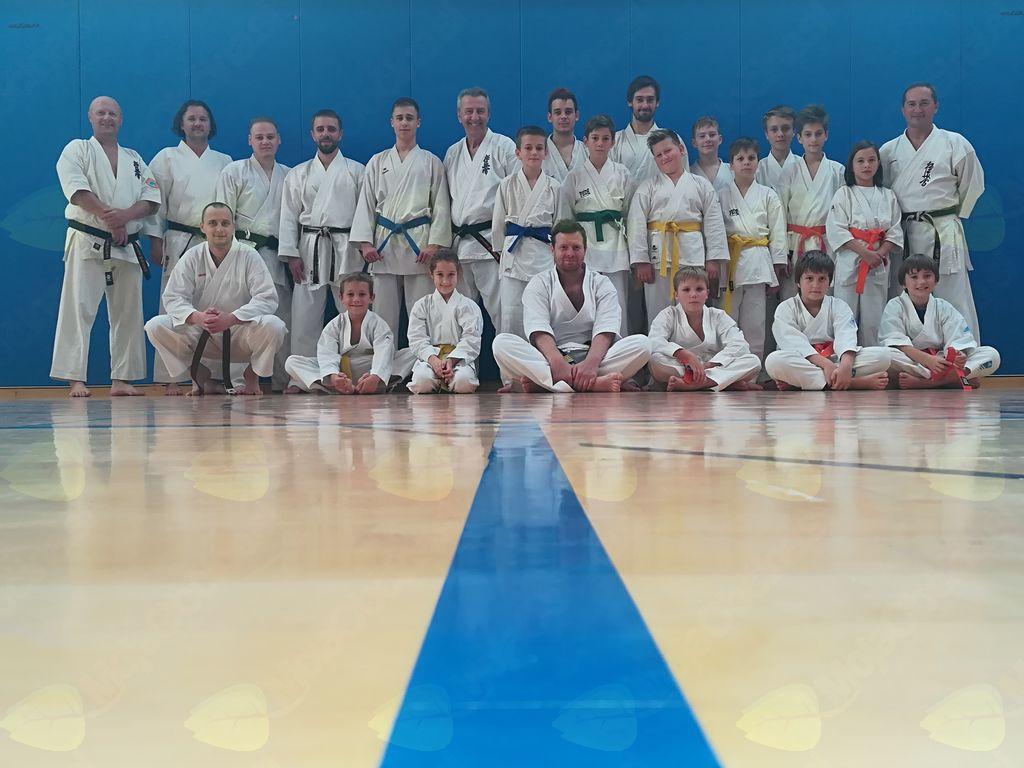 1. Kyokushinkai karate seminar v Sloveniji
