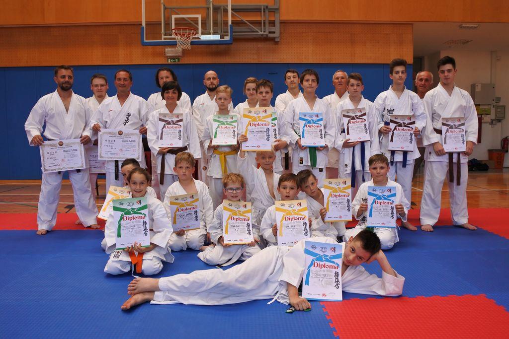 Karateisti KBV Sevnica