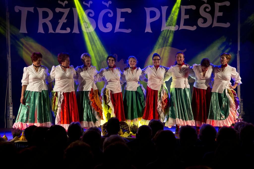 Mlade žurerke so predstavile osem plesov (foto: Nevenka Flajs).