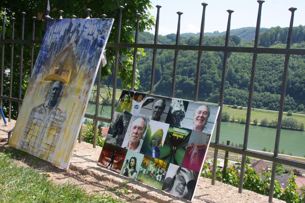 Na sevniškem gradu ustvarjalo 42 likovnikov iz Slovenije in tujine