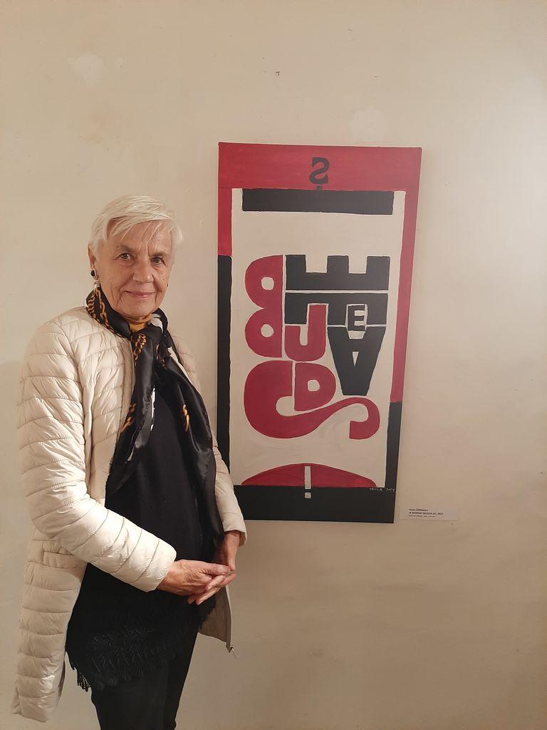 Na regijski tematski razstavi Oblo in oglato razstavljali tudi sevniški likovni umetniki