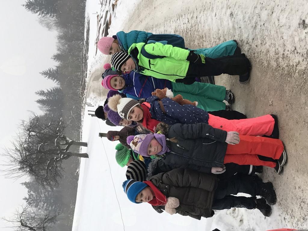 Zimski sportni dan na POŠ Tabor – pohod