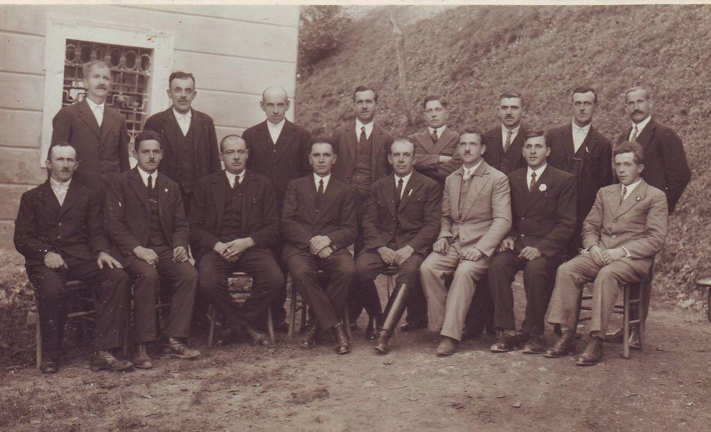 Občinski odborniki občine Log leta 1934