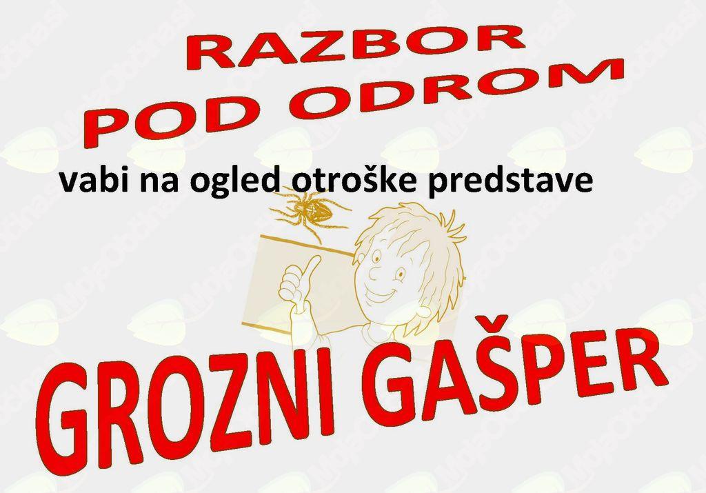 Grozni Gašper, ponovitev gledališke predstave na Razborju pod Lisco