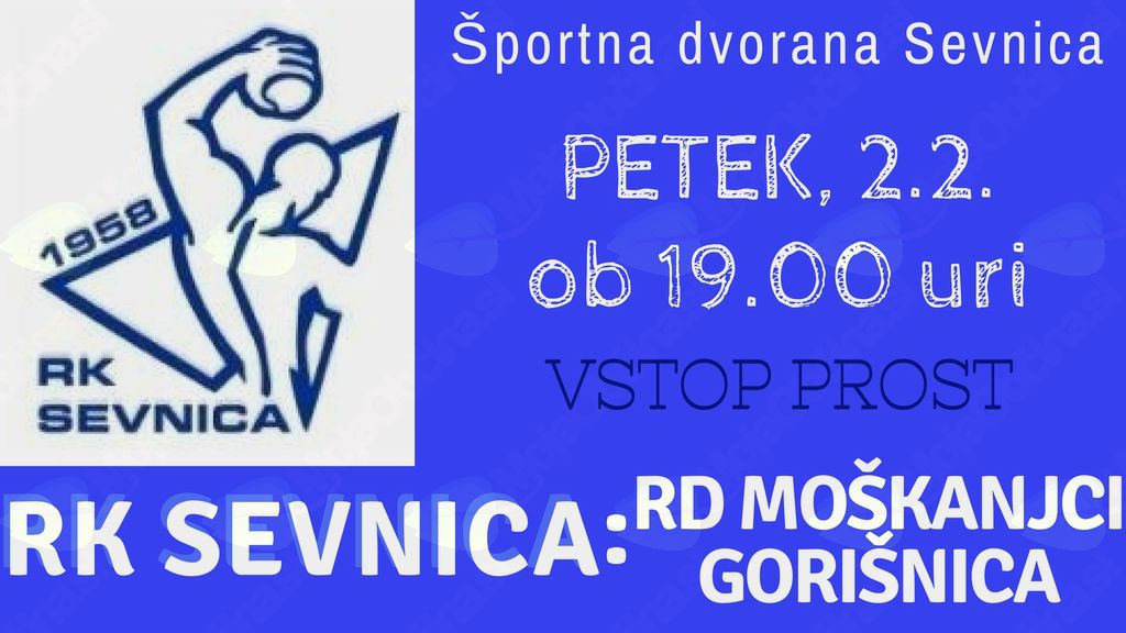 RK Sevnica : RD Moškanjci Gorišnica,12.krog člani-2.državna liga