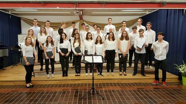 Mladinski mešani pevski zbor Srednje šole Josipa Jurčiča