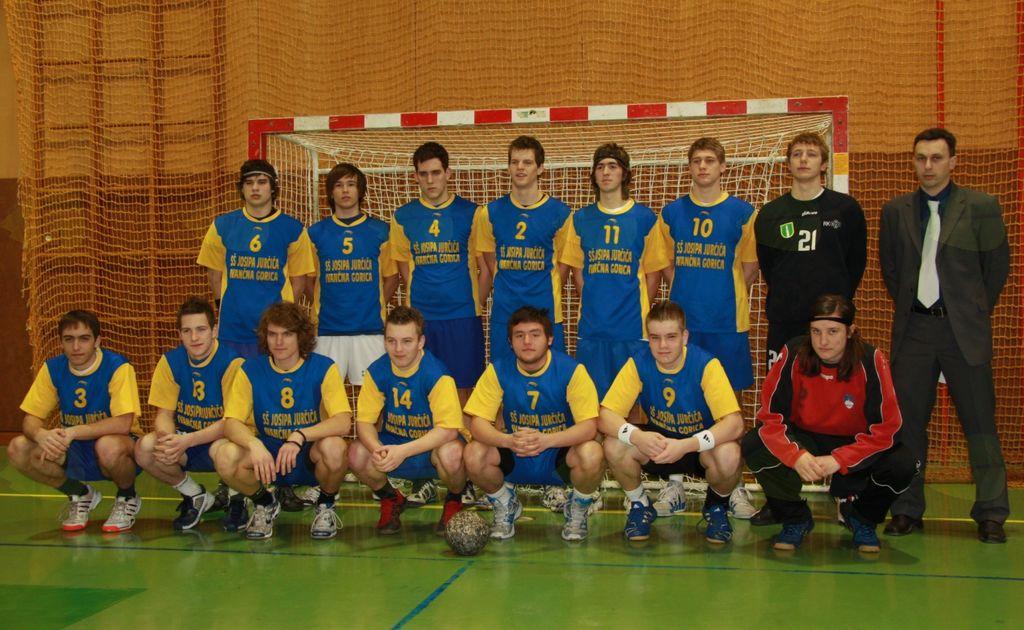 Slovenski srednješolki rokometni prvaki 2010