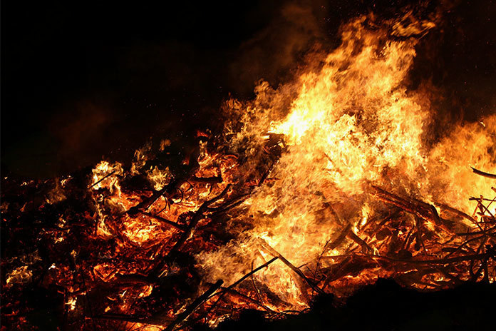 Požarna ogroženost v naravnem okolju za naše kraje še velja