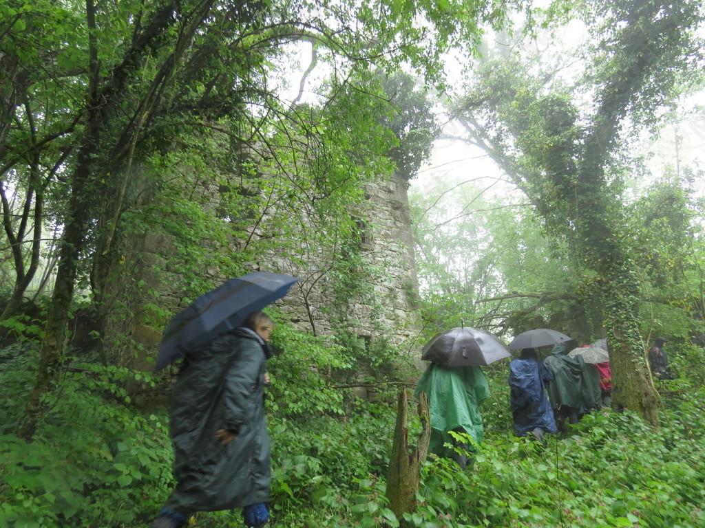 Porušena vasica Podravno;    foto: Božidar Rustja