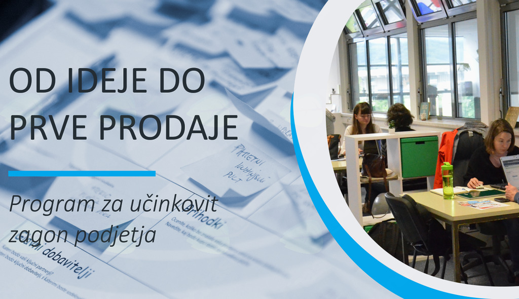 "Odprte so prijave v program ""Od ideje do prve prodaje"""