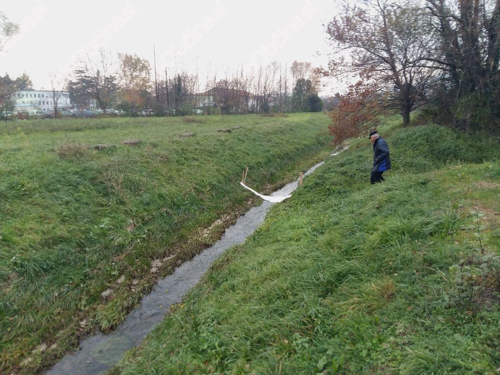 Onesnaženje Vrtojbice - v potok odtekla manjša količina jedilnega olja