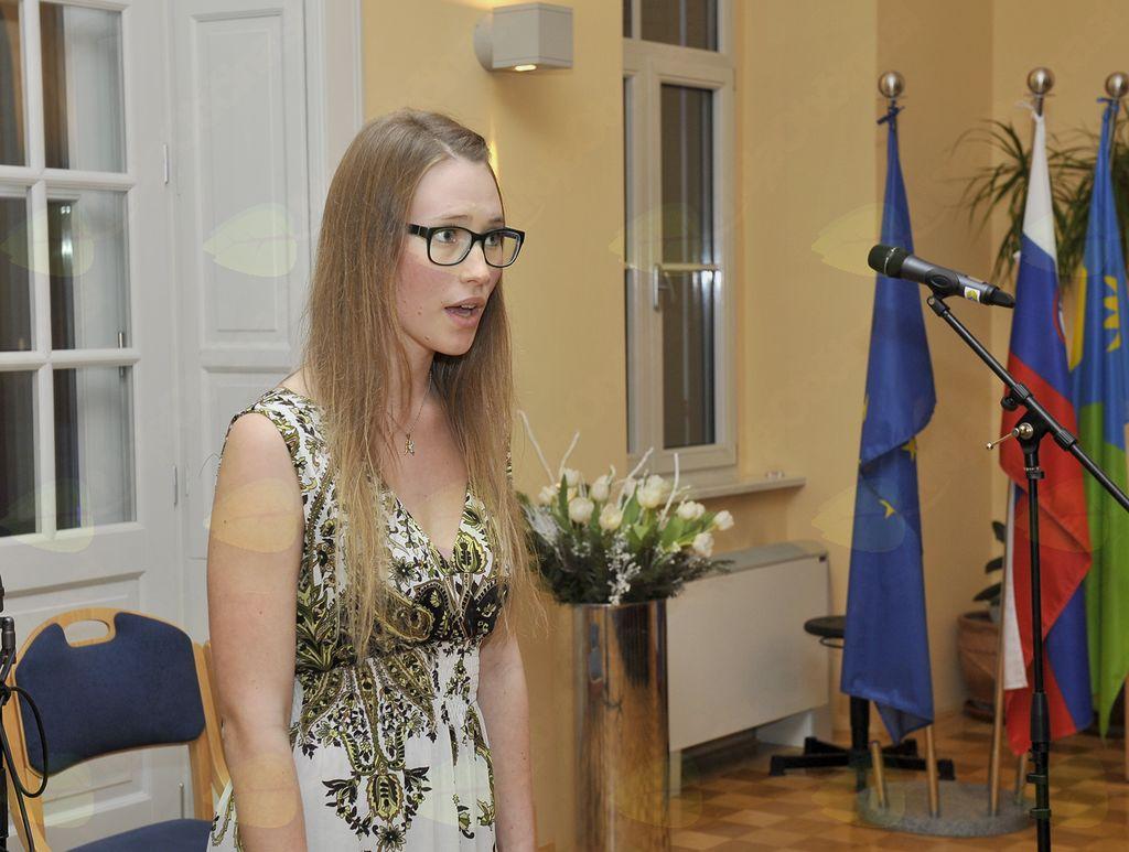 Julija Polanc (Foto: Foto atelje Pavšič Zavadlav)