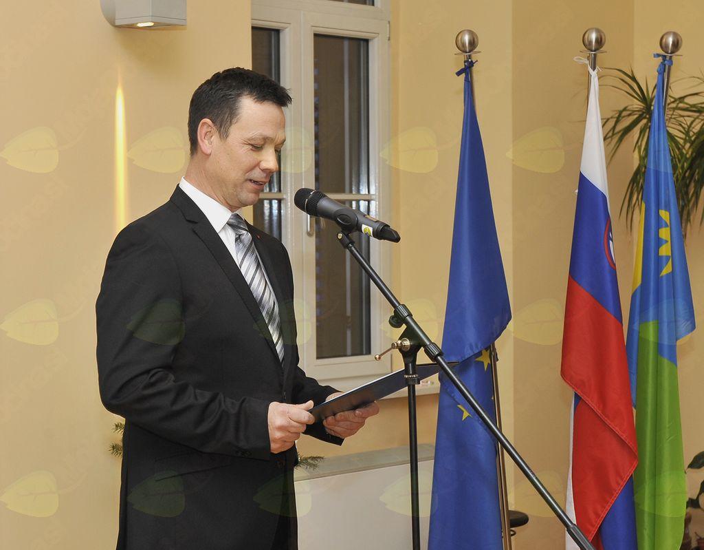 Slavnostni govornik Jože Rupar. (Foto: Foto atelje Pavšič Zavadlav)