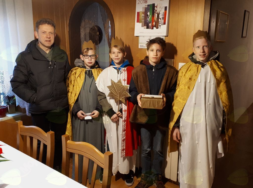 Koledniki obiskali šempetrske domove
