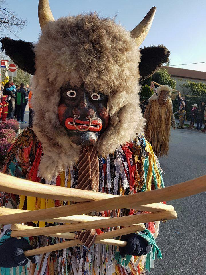 Etnološke pustne maske Liški pustje.