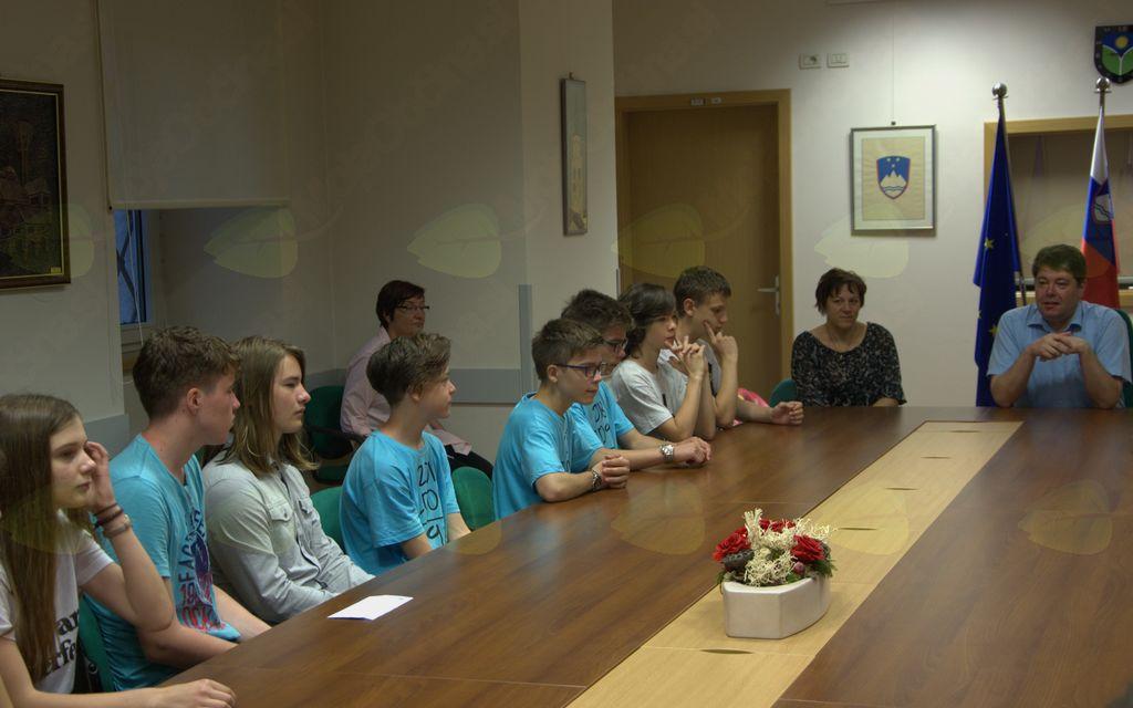Sprejem uspešnih učencev OŠ Ivana Roba Šempeter pri Gorici in Glasbene šole Nova Gorica