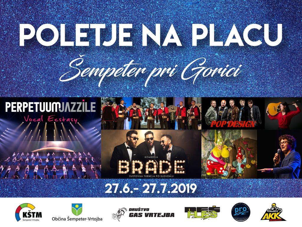 V Šempetru se začenja Poletje na placu 2019