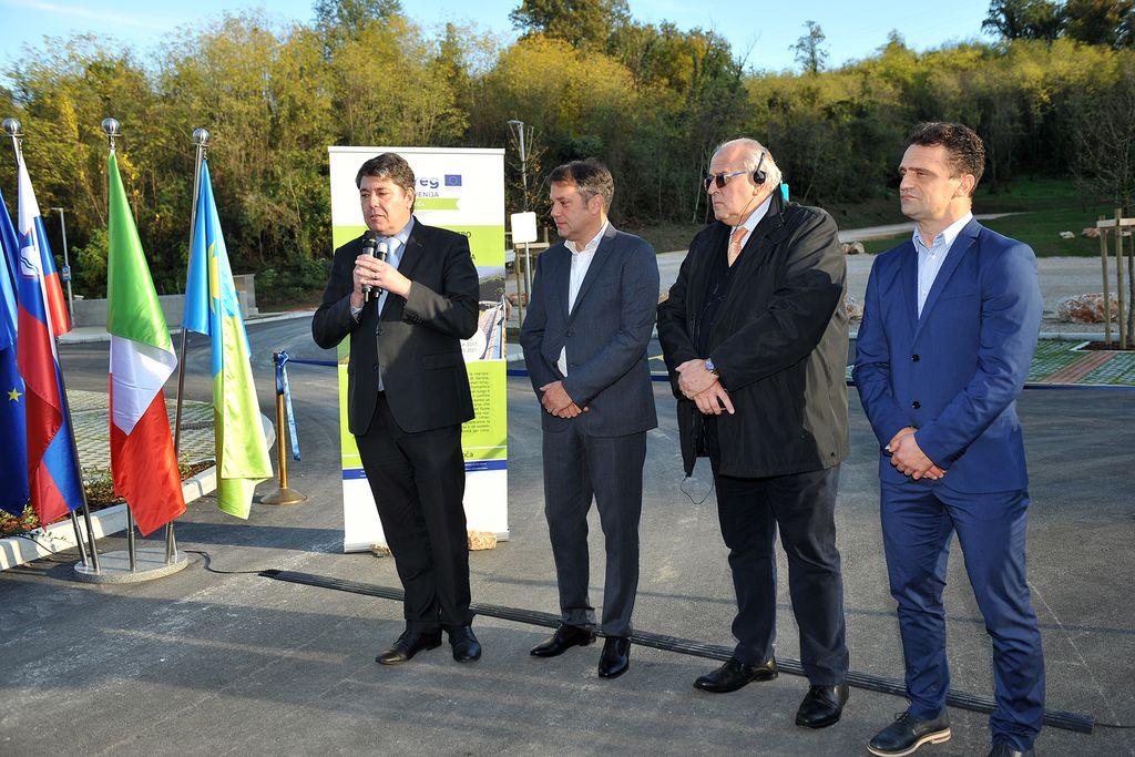 Odprt PZA Vrtojba - prvi dokončan sklop v okviru evropskega projekta Isonzo-Soča