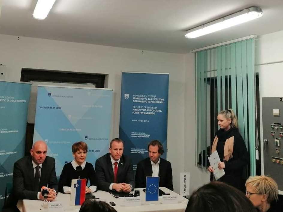 """Podpisana pogodba """"Sanacija pregrade Vogršček s pripadajočimi objekti"""""""