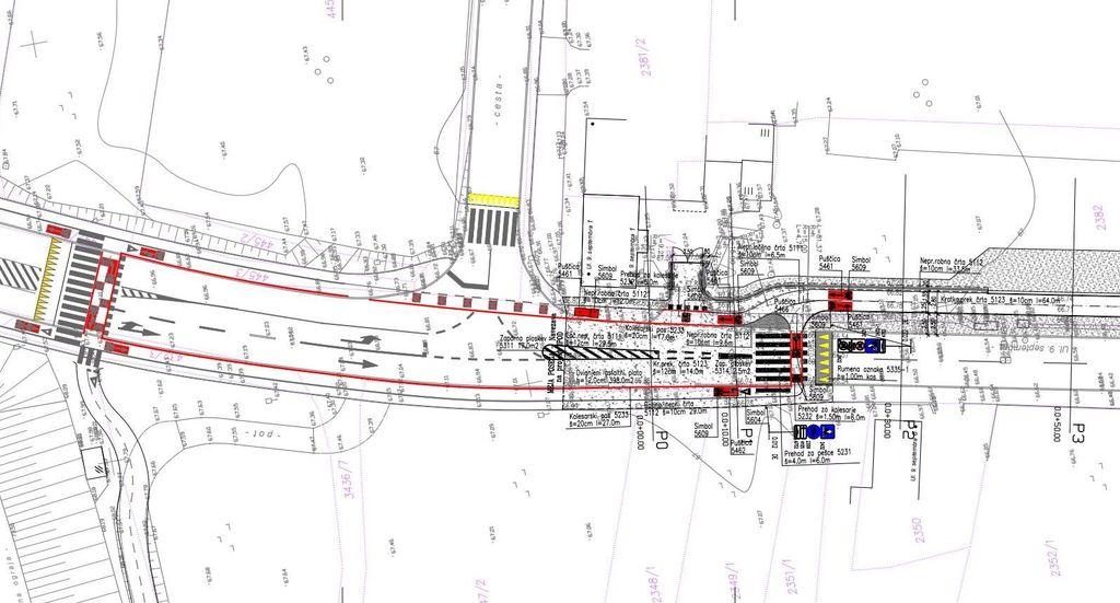 Ureditev križišča na odcepu za Laze v Vrtojbi in povezava obeh kolesarskih povezav.