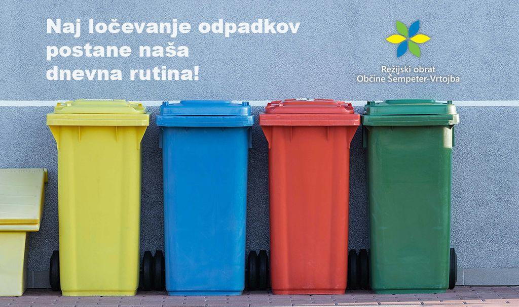 Video predstavitev Zbirnega centra, da bo ločevanje odpadkov lažje