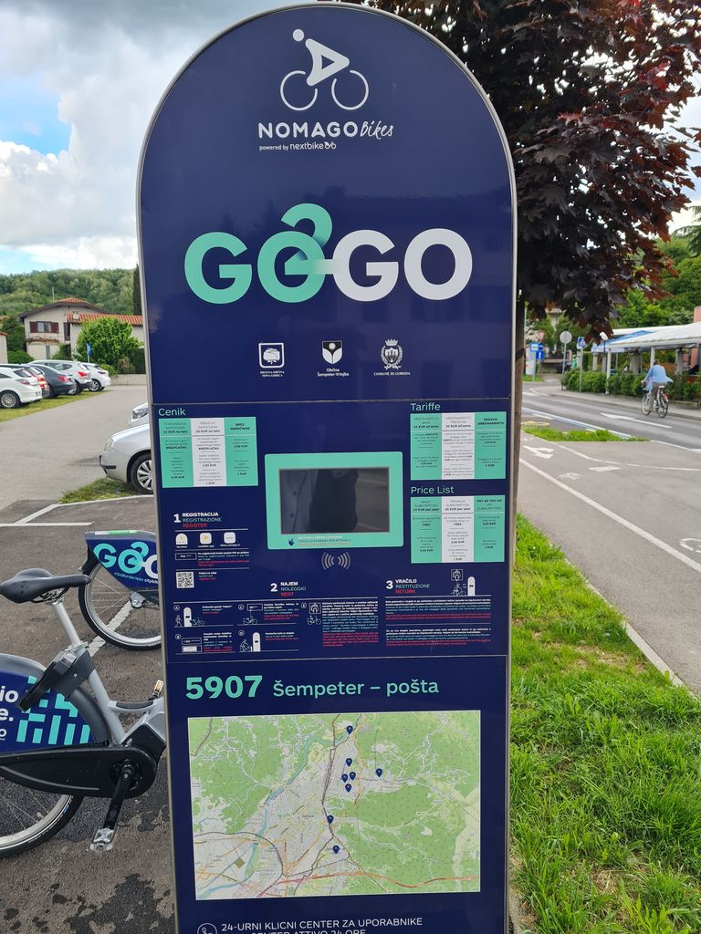 Sistem za izposojo koles tudi uradno predan v uporabo