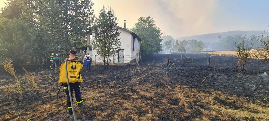 Župan sprejel gasilce, ki so sodelovali pri intervenciji v Severni Makedoniji
