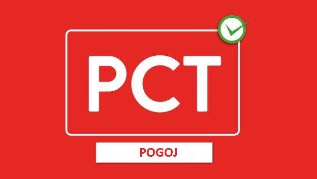 Obvestilo o obveznosti izpolnjevnja pogoja PCT pri vstopu v občinske prostore