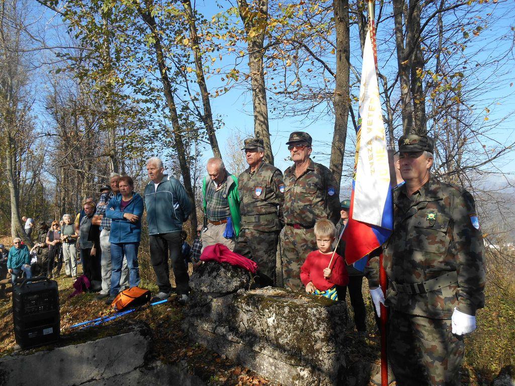 18. spominski pohod na Globočak, foto: Dora Ravnik