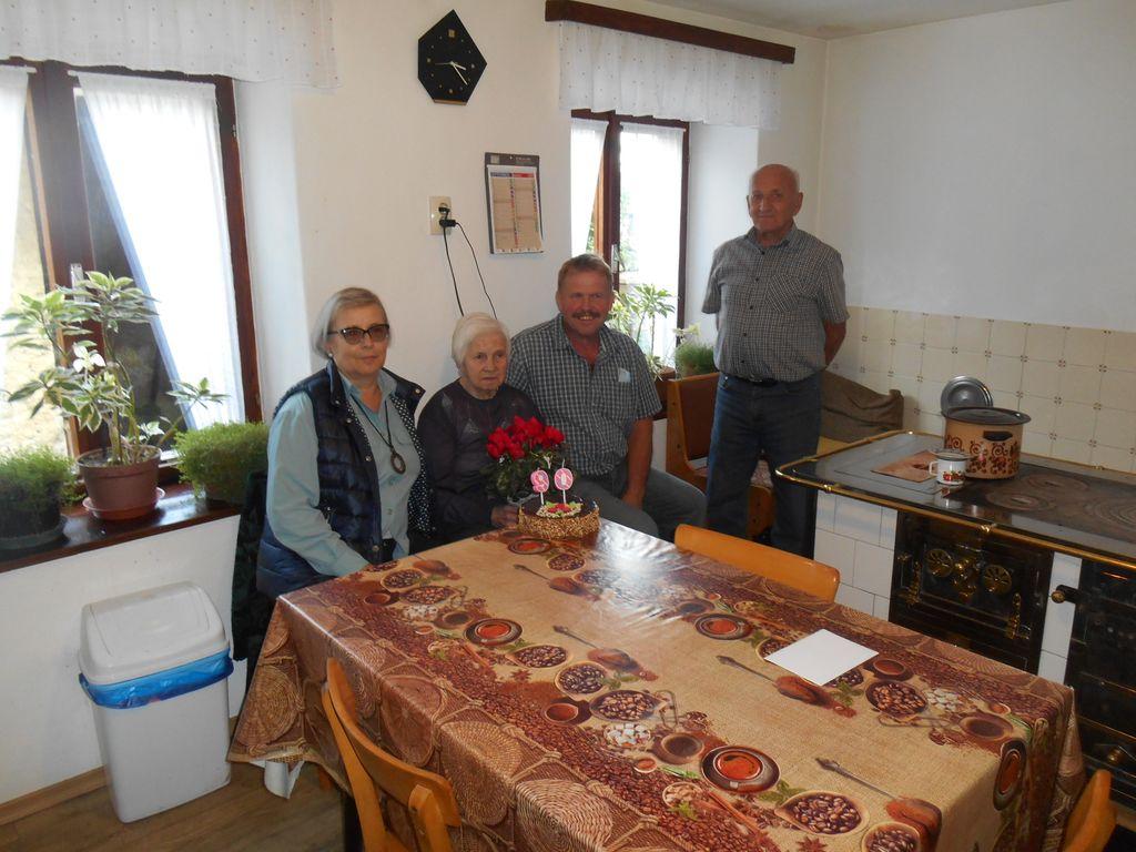 Justina 90 let    foto : Dora Ravnik
