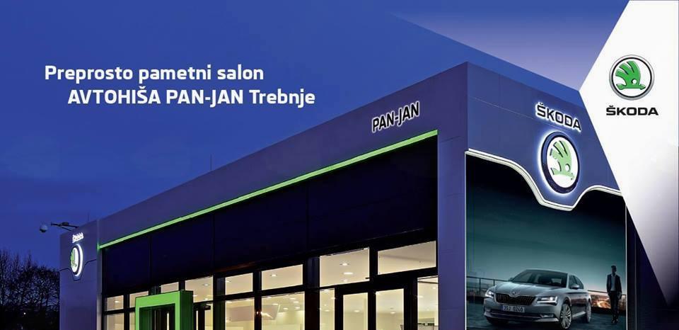 Otvoritev prenovljenega Škodinega salona Pan-Jan v Trebnjem