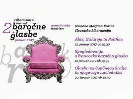 2. Filharmonični festival baročne glasbe