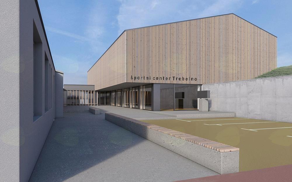 Podpisali pogodbo za izgradnjo Športnega centra Trebelno in dozidavo šole
