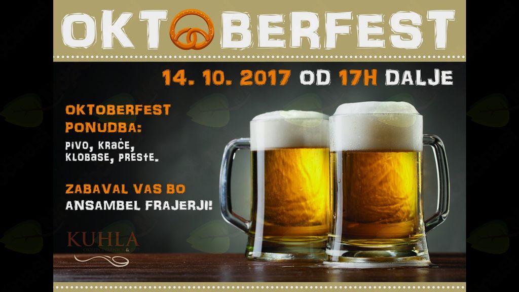 Oktoberfest V Okrepčevalnici Kuhla