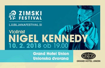 Nigel Kennedy prvič v Sloveniji