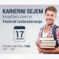 Obiščite Regionalni Karierni sejem MojeDelo.com in Festival izobraževanja in poiščite novo zaposlitev!