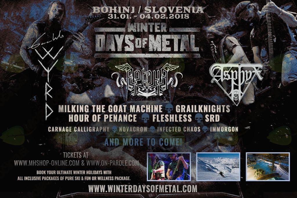 Winter Days of Metal 2018