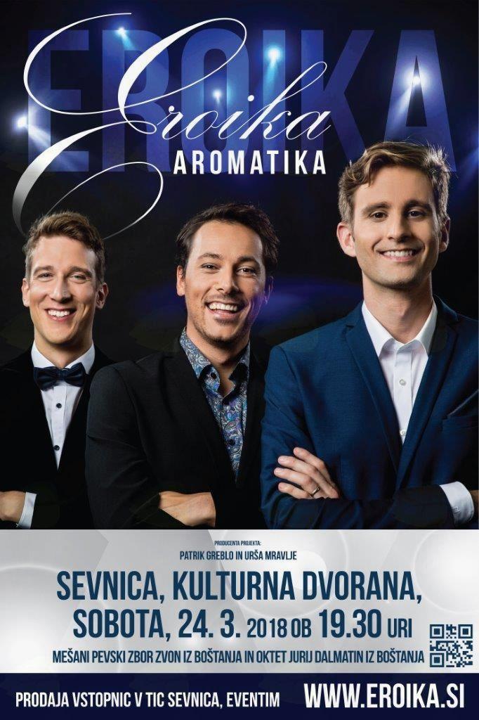 EROIKA AROMATIKA, koncert najlepših melodij
