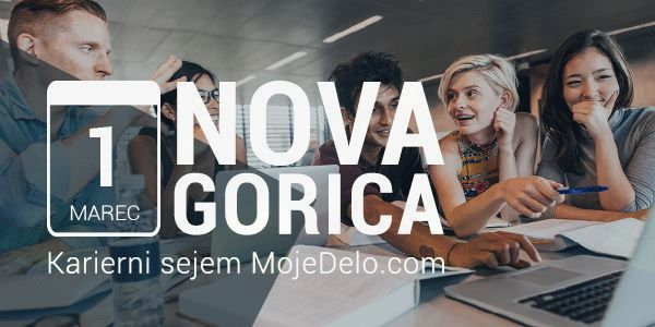 Karierni sejem MojeDelo.com - Nova Gorica 2018