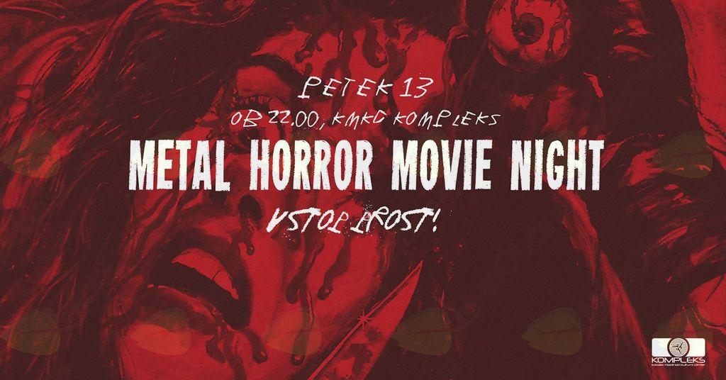 Metal Horror Movie Night