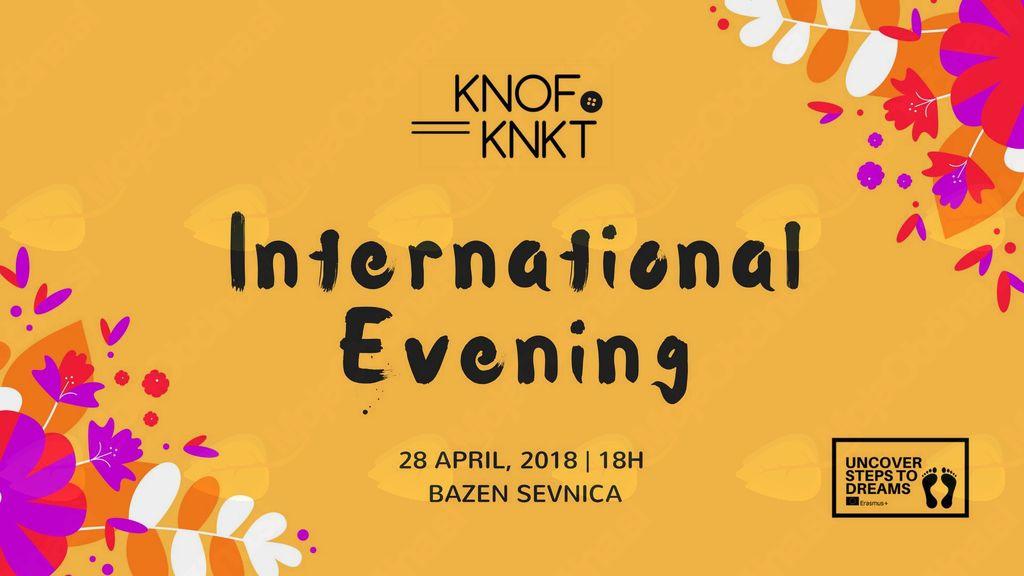 International Evening / Mednarodni Večer