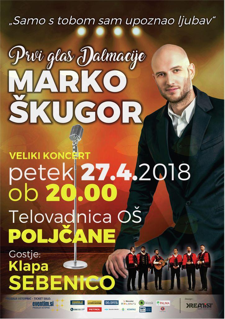Marko Škugor - Poljčane - gosti: klapa Sebenico
