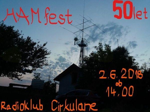 HAMfest 2018 in 50 let radioamaterstva v Cirkulanah